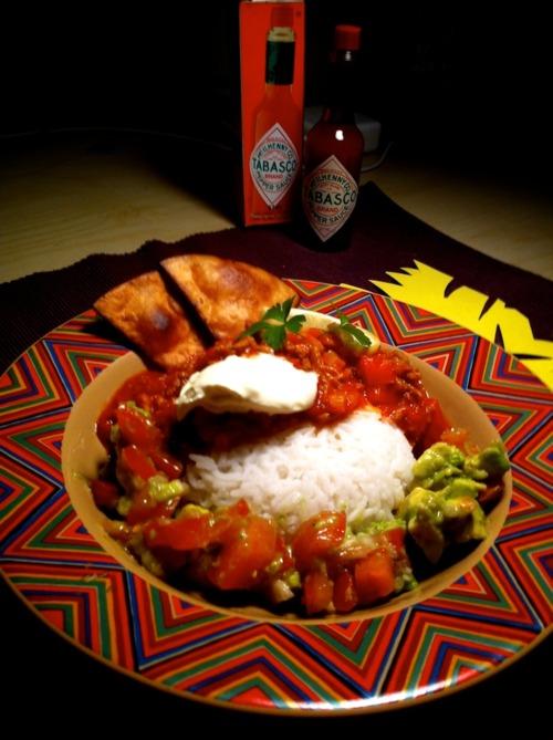 Chili con carne sin scheten