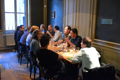 Foodbloggers 'battle' part 2: Coeur d'Artichaut in Gent