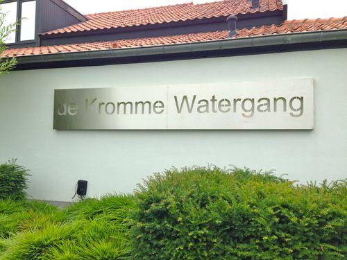 Lunch bij de Kromme Watergang in Hoofdplaat (NL)