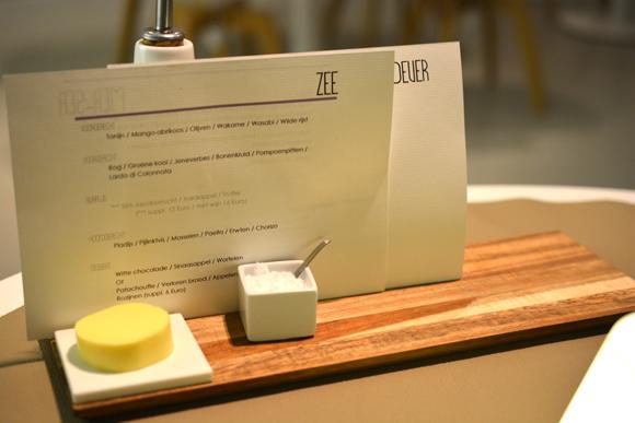 spaans dak menu