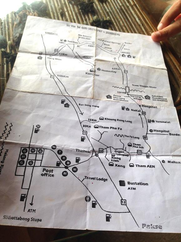 thakek-kaart
