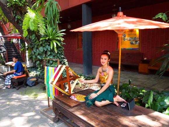 Een schoon Thaïs madammeke