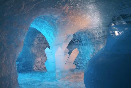 les 2 alpes icecave