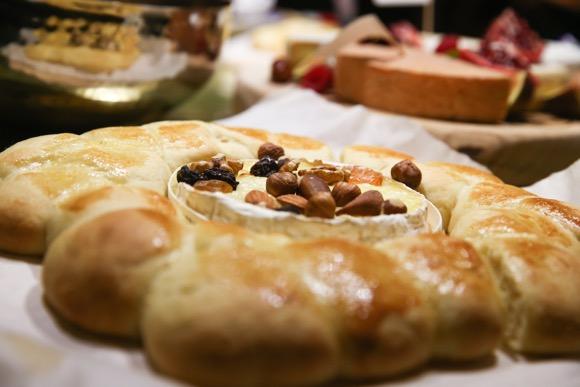 gebakken camembert - 2
