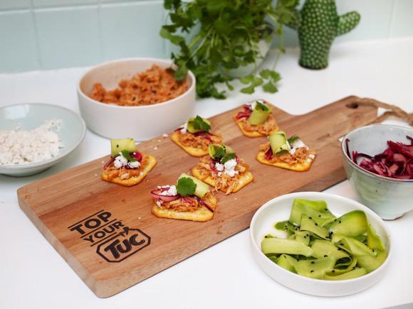 #TOPyourTUC: Taco-TUC met pulled chicken en avocado