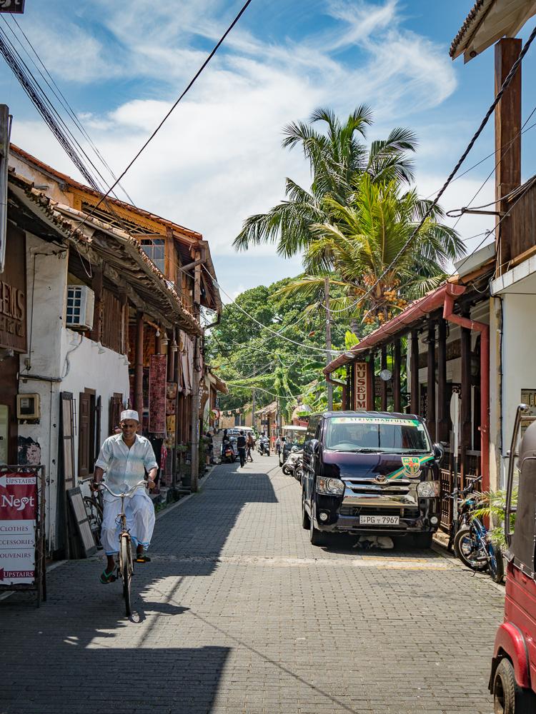 Sri Lanka: Geschiedenis snuiven in Galle