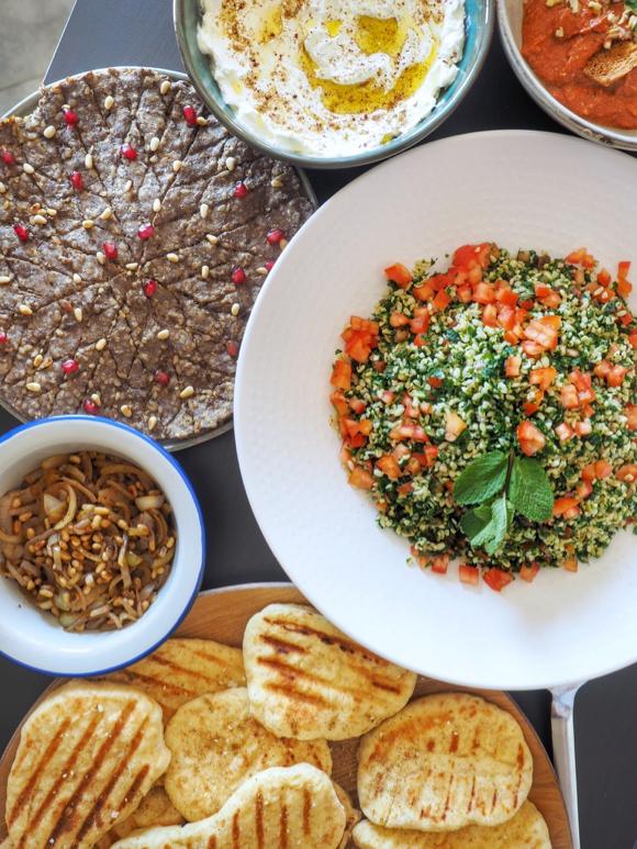 Tafelklap over de Libanese keuken + nieuwe datum!