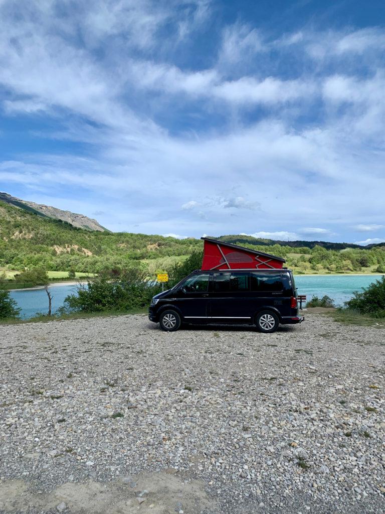 Roadtrip door Frankrijk en Italië met een VW California busje