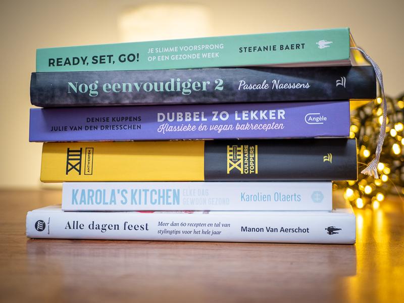 6 kookboeken die onder de kerstboom horen